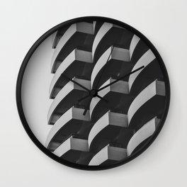 Fascinating Facade Wall Clock