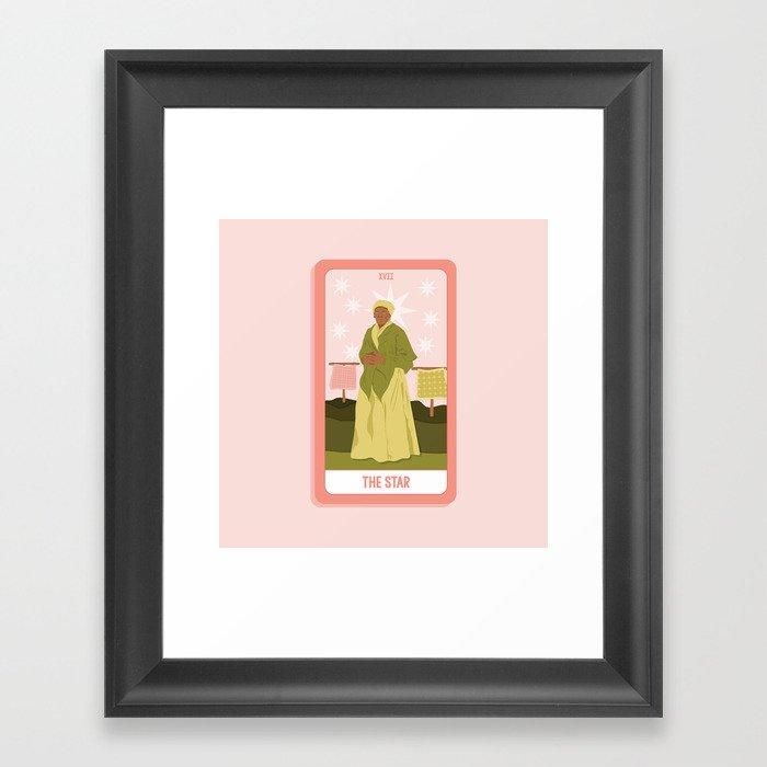 Tarot Card XVII: The Star Gerahmter Kunstdruck