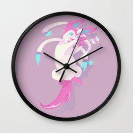 Intertwining Wall Clock