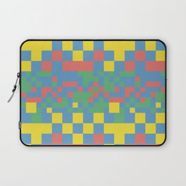 Pixel squares Laptop Sleeve