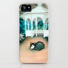 Gazebo Cat iPhone Case