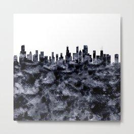 Chicago Skyline Illionois Metal Print