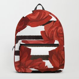 Red Rosy Style Backpack
