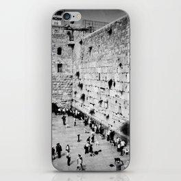 Western Wall iPhone Skin