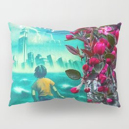 Percy Jackson & the Cherry Blossom Tree Pillow Sham