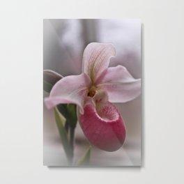 Ballet Slipper Orchid Metal Print
