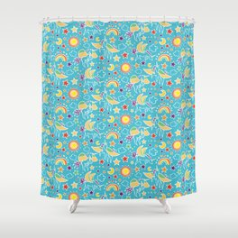 Pegasus Play by Mellie Test Shower Curtain
