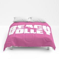 Beach volley Comforters