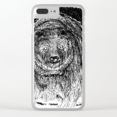 In the night Clear iPhone Case