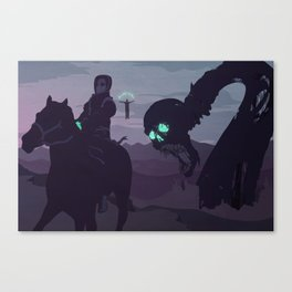 II. Agents and Shadows of the Abyss Canvas Print