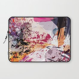 7: a vibrant abstract in jewel tones Laptop Sleeve