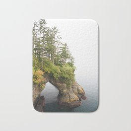 Cape Flattery Arch Ocean Rock Geology Washington Cliff Hiking Forest Trees Bath Mat