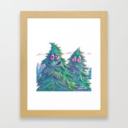 Pine is Fine Framed Art Print