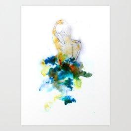 Spring Figure Art Print