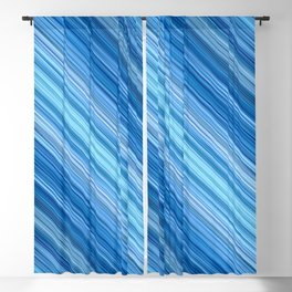 Ambient 1 in Blue Blackout Curtain