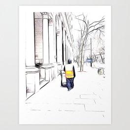 City Streets 3 Art Print