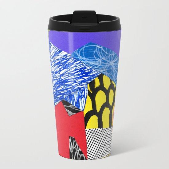 Colors & Shapes Metal Travel Mug