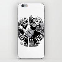 tatoo iPhone & iPod Skins featuring Pole Friends - Tatoo by Pole Friends Shop