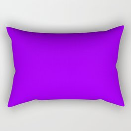 Electric Violet - solid color Rectangular Pillow