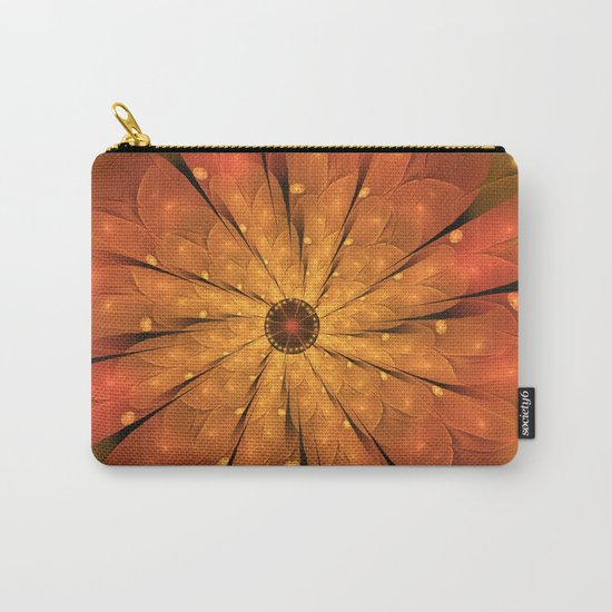 Cosmic Flower Carry-All Pouch