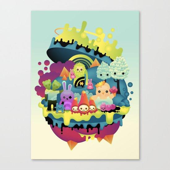 little people Canvas Print