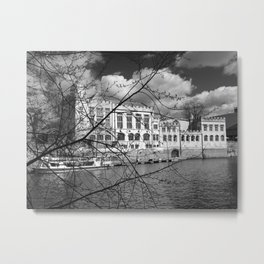 York Guildhall on the river Ouse Metal Print