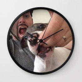 Baby Cujo Wall Clock
