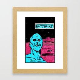 Butthurt PhD Framed Art Print