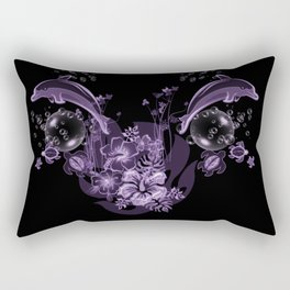 Wonderful dolphin Rectangular Pillow