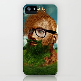 Eco Hipster iPhone Case