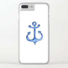 Dreaming of nautical adventure Clear iPhone Case