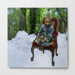 THE LITTLE PRINCE III (OF THE FOREST) Metal Print