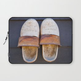 Typical dutch clogs Laptop Sleeve