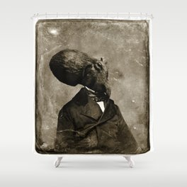 Cthulhu, 1843 Shower Curtain