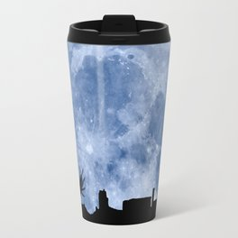 Tribute to the first flying man (Diego Marín Aguilera) in history Travel Mug