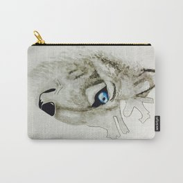 Heart and Spirit of a Wolf Carry-All Pouch