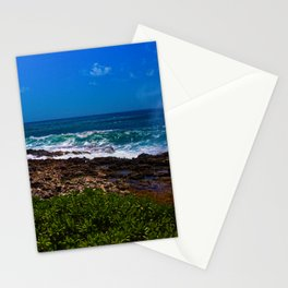 Mist Out Of Rocks Stationery Cards