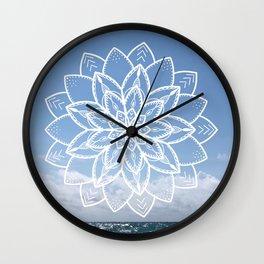 Mandala sky Wall Clock