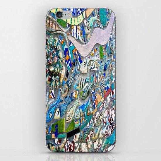 Venice Beach Bathroom Art iPhone & iPod Skin