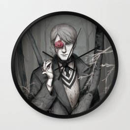Young hannibal lecter Wall Clock