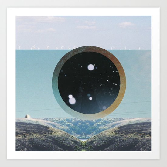 Last Night We Went To Space But I Knew It Was A Dream Even Before I Woke Up Art Print