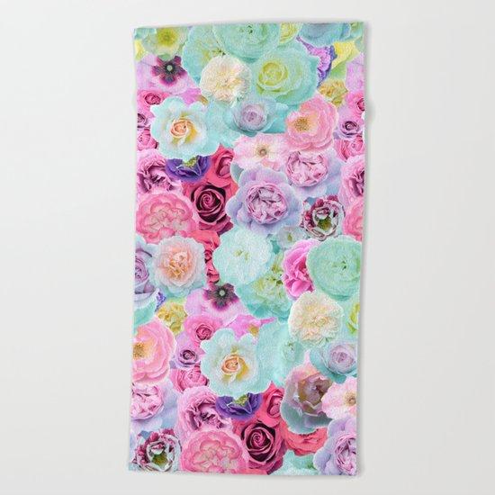 Roses II Beach Towel