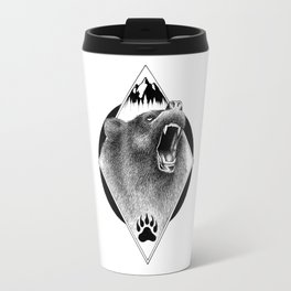 THE KING OF THE MOUNTAIN Travel Mug