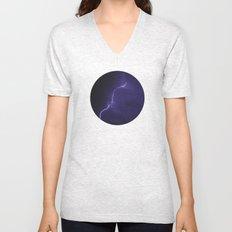 Planetary Bodies - Lightning Unisex V-Neck