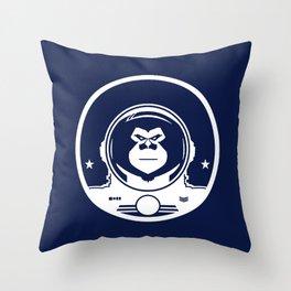 Space Monkey Mafia Throw Pillow