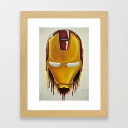 """""""Melting Iron"""" Framed Art Print"""