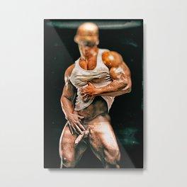 Vladimir Distressed Metal Print