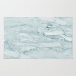 Marble Pale Teal Sea Green Marble Rug