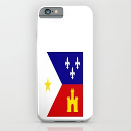 Acadiana Flag iPhone Case