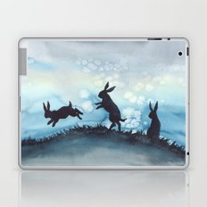 Blue Bunnies Laptop & iPad Skin
